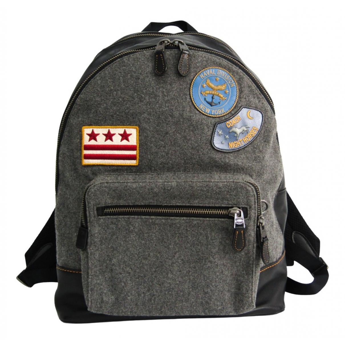 Coach \N Grey Cloth backpack for Women \N