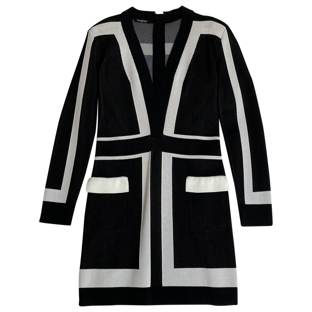 Balmain \N Black dress for Women 42 FR
