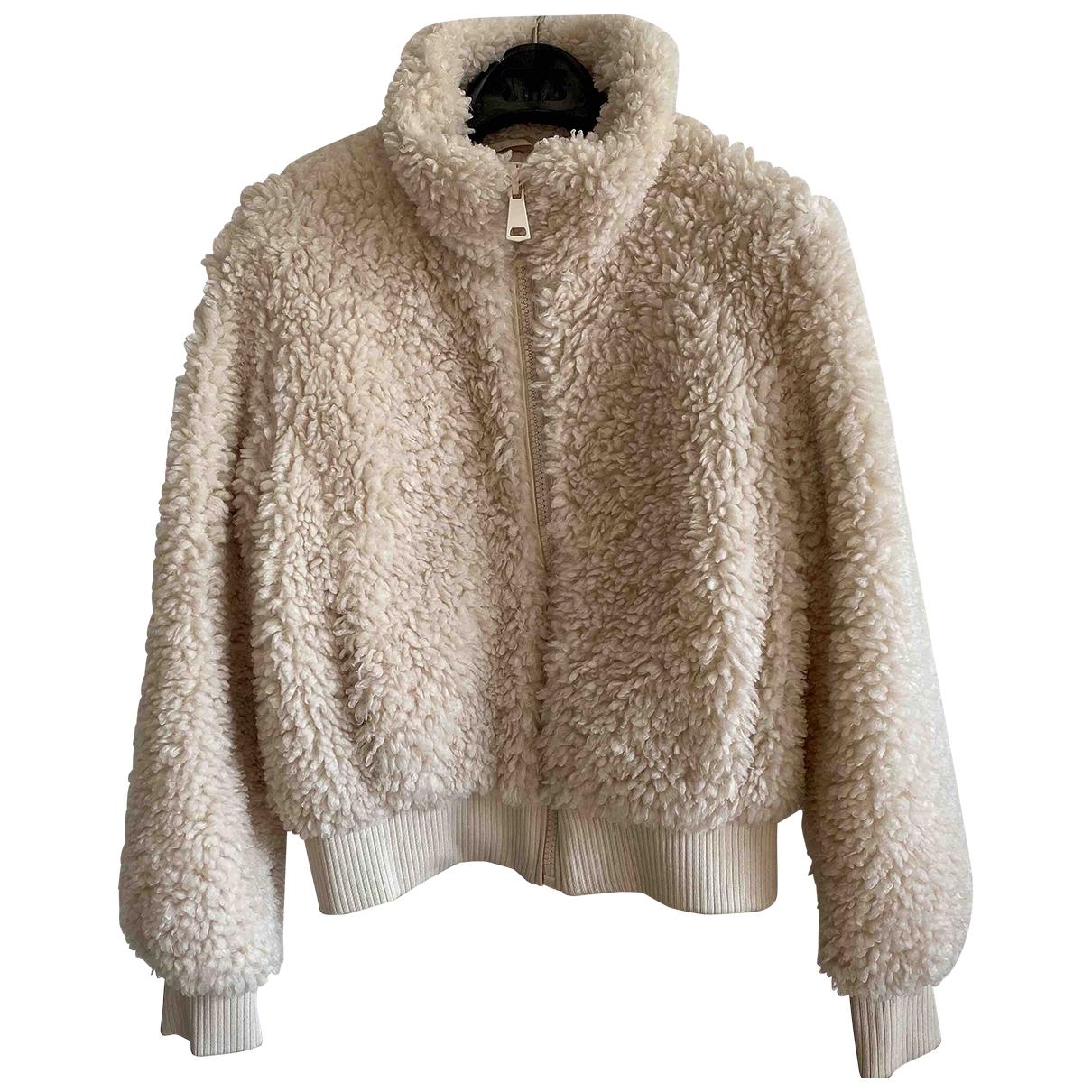 Zara \N Ecru jacket for Women XS International