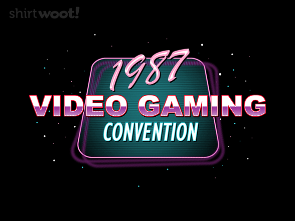 1987 Video Game Con T Shirt