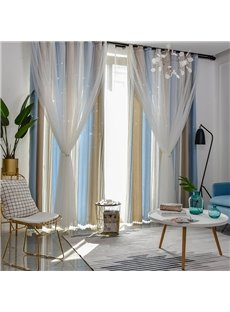 Beddinginn Geometric Modern Blackout Curtain Curtains/Window Screens