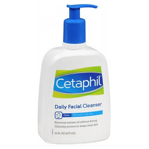 Cetaphil Daily Facial Cleanser For Normal To Oily Skin 16 oz by Cetaphil