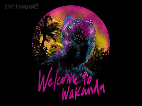 Welcome To Wakanda T Shirt