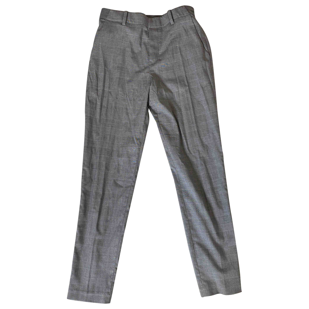 Uniqlo \N Grey Trousers for Women 34 FR