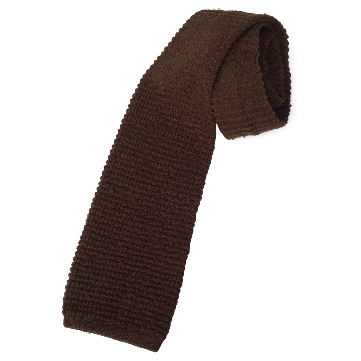 Ermenegildo Zegna \N Brown Wool Ties for Men \N