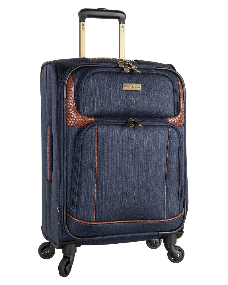 Royce 19.5-Inch Expandable Spinner Suitcase