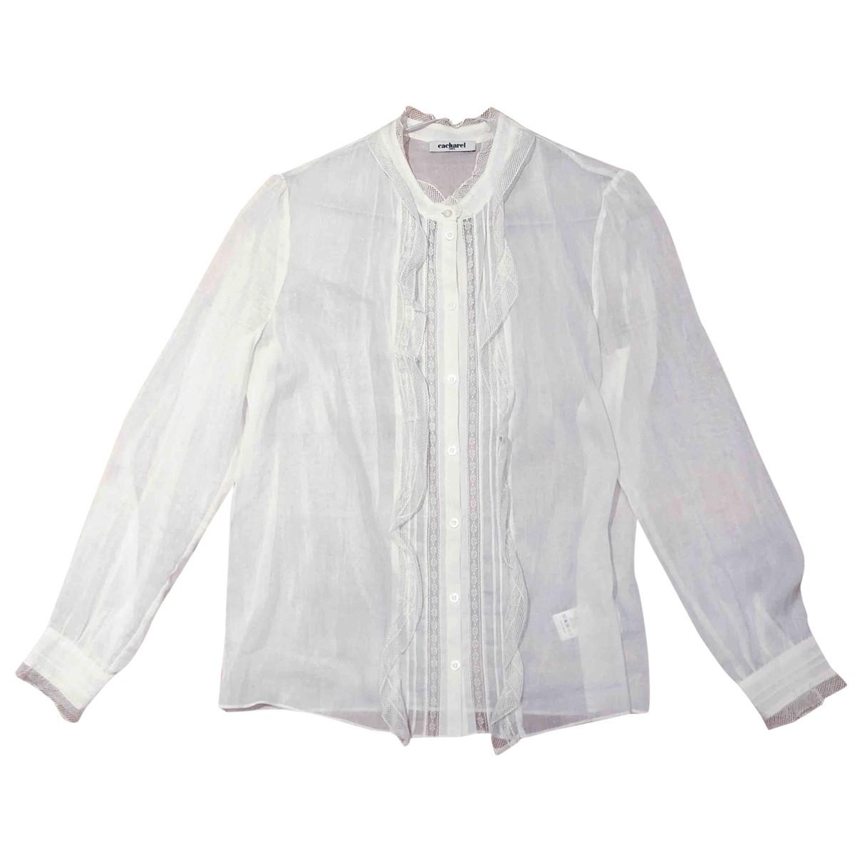 Cacharel \N Ecru Silk  top for Women 38 FR