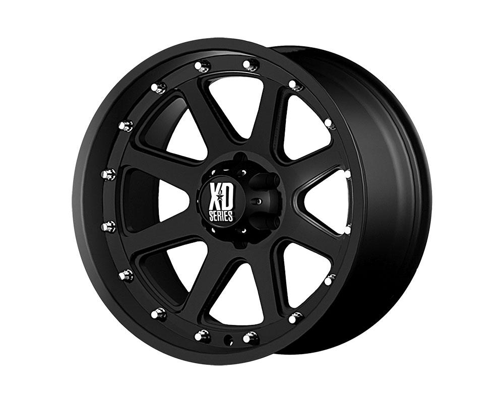 XD Series XD79879080712N XD798 Addict Wheel 17x9 8x8x165.1 -12mm Matte Black