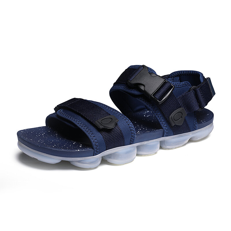 Mens Outdoor Non Slip Beach Water Multi-Strap Sandals