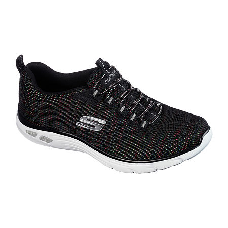 Skechers Empire Womens Sneakers, 7 1/2 Medium, Black
