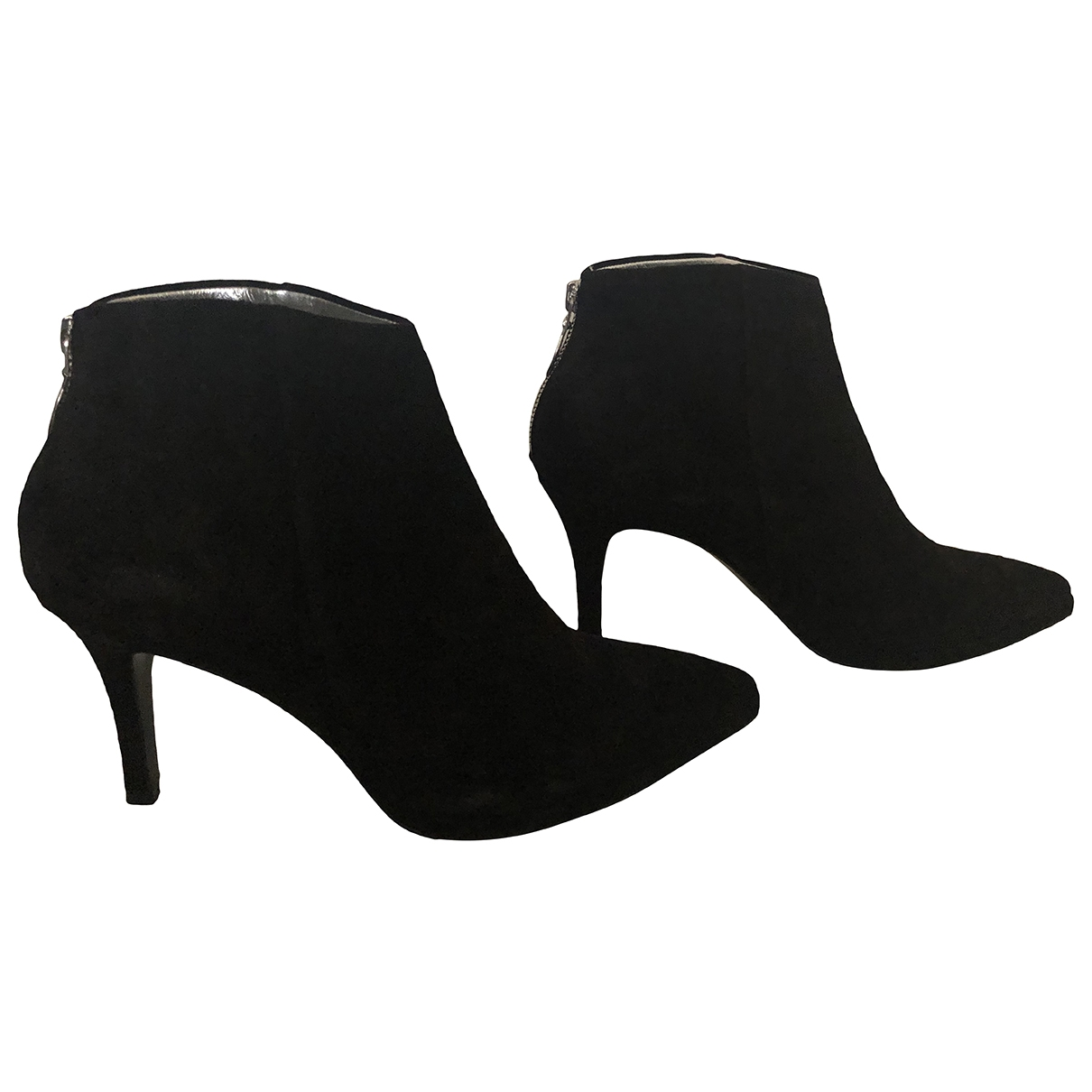Free Lance \N Black Suede Ankle boots for Women 38 EU