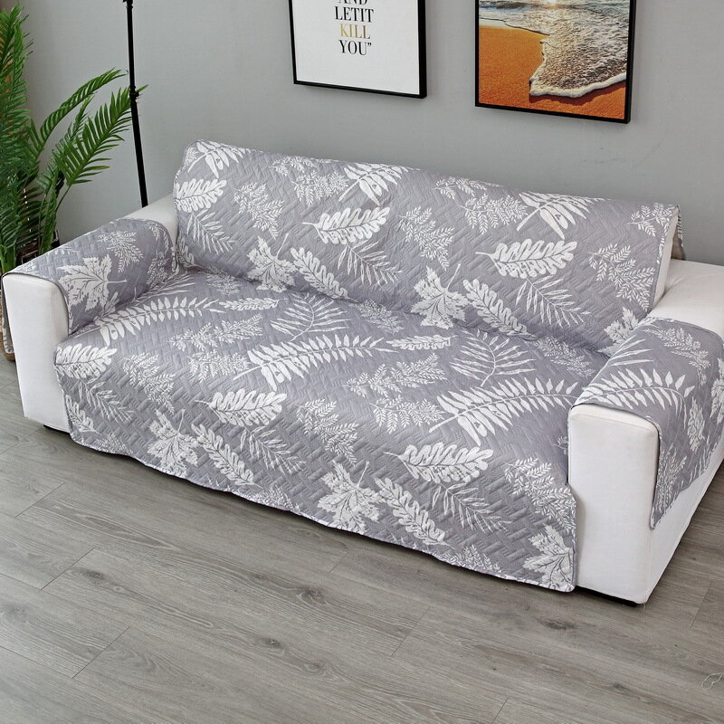 1/2/3 Seat Universal Quilted Sofa Couch Cover Furniture Protector Mat Chair Covers