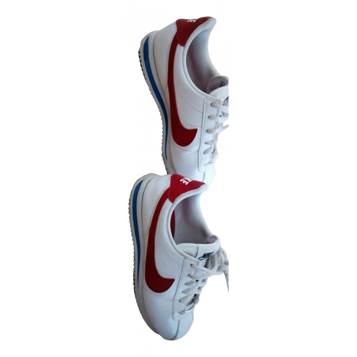 Nike Cortez White Leather Trainers for Women 36 EU