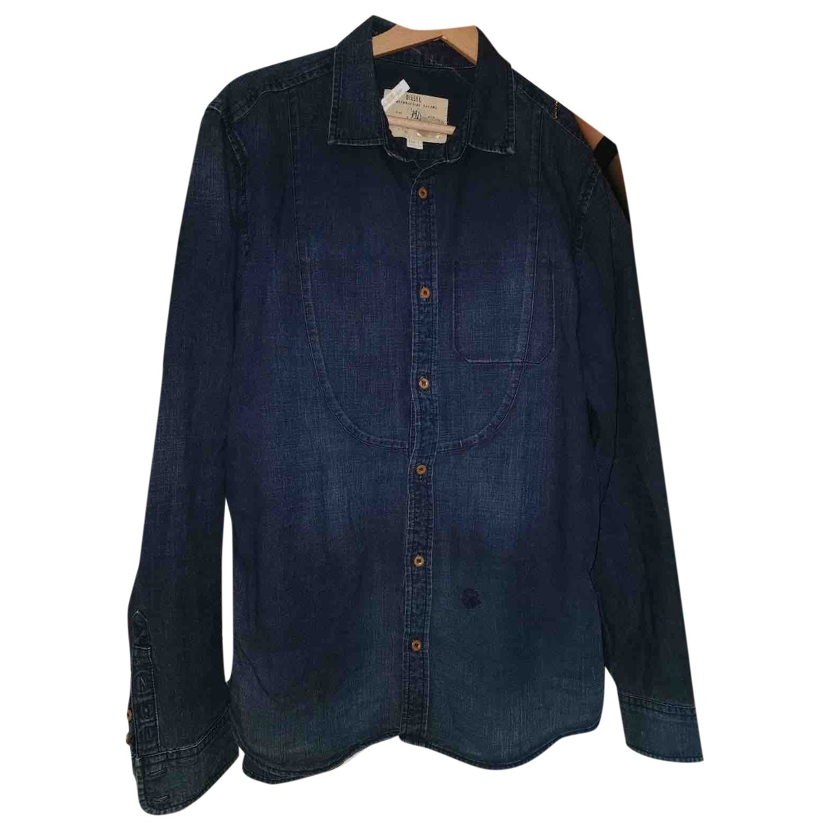 Diesel \N Blue Denim - Jeans Shirts for Men L International