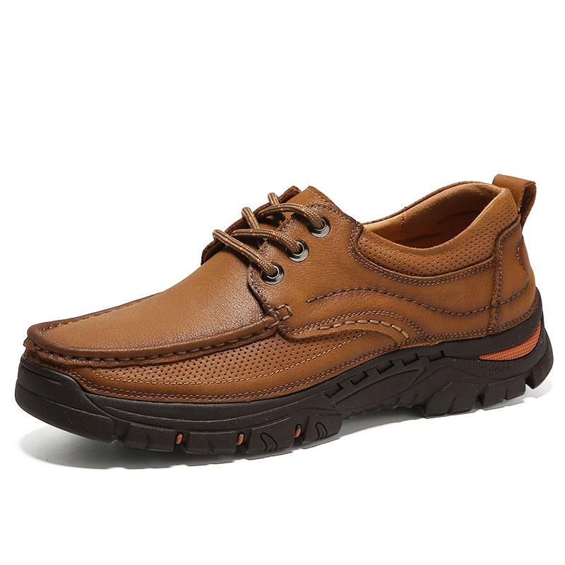 Ericdress Plain Slip-On Low-Cut Upper Round Toe Men's Work Shoes