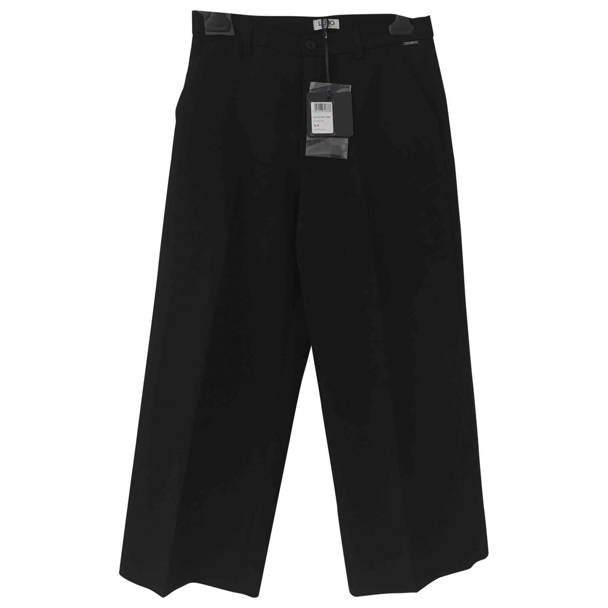 Liu.jo \N Black Trousers for Women 38 IT
