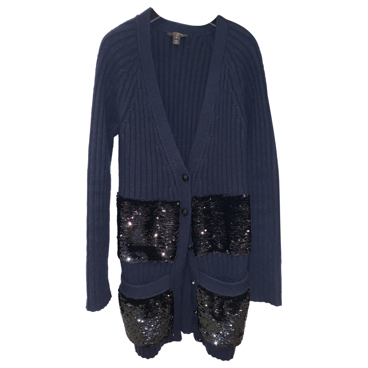 Louis Vuitton \N Blue Wool Knitwear for Women 38 FR