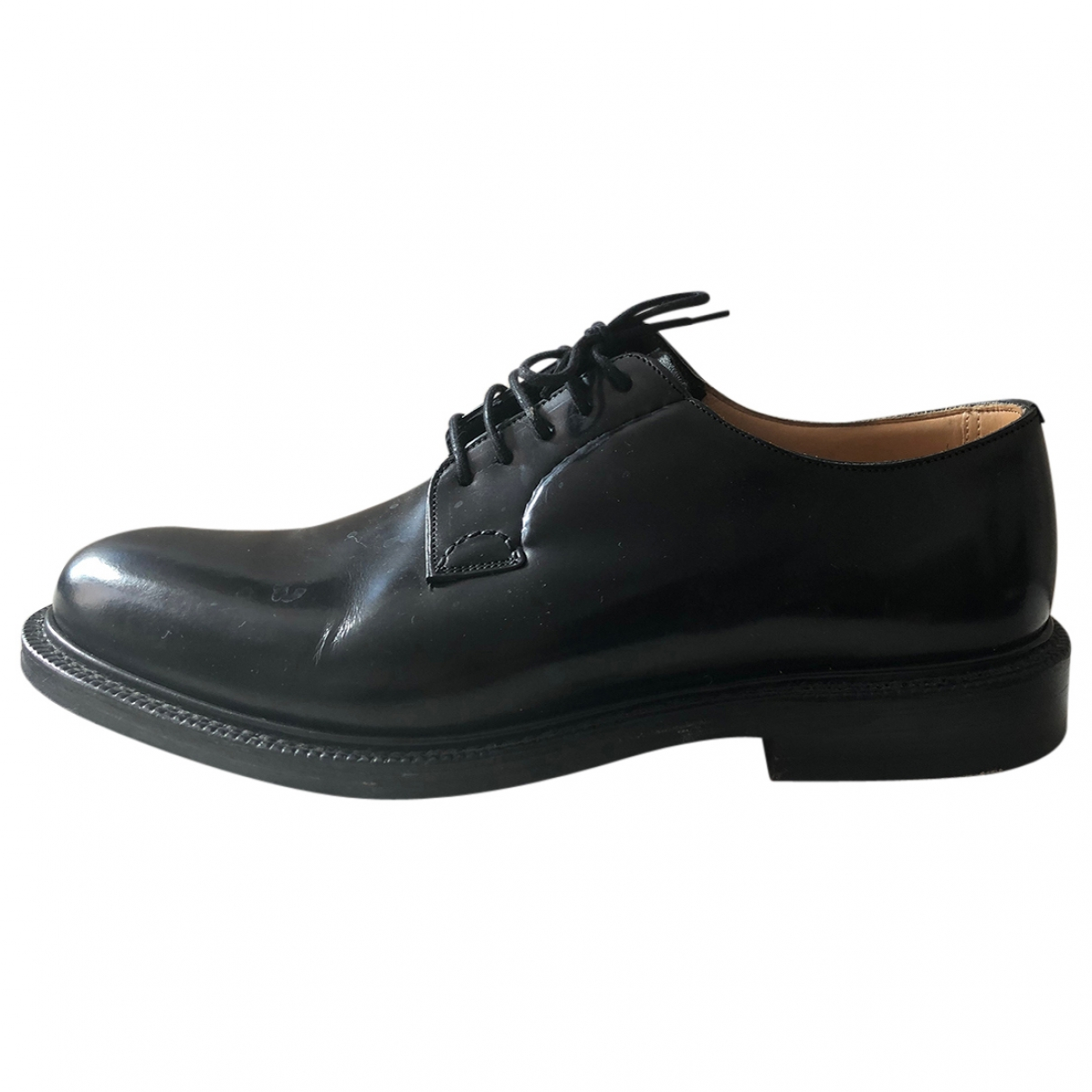 Church's \N Black Leather Lace ups for Men 41 EU