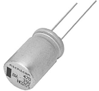 Nichicon 68μF Electrolytic Capacitor 160V dc, Through Hole - UBX2C680MHL