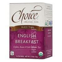English Breakfast Tea Organic 16 Bags  by Choice Organic Teas