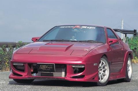 R Magic RMG40111100007 Complete Body Kit 07 Mazda RX-7 FC3S 86-92