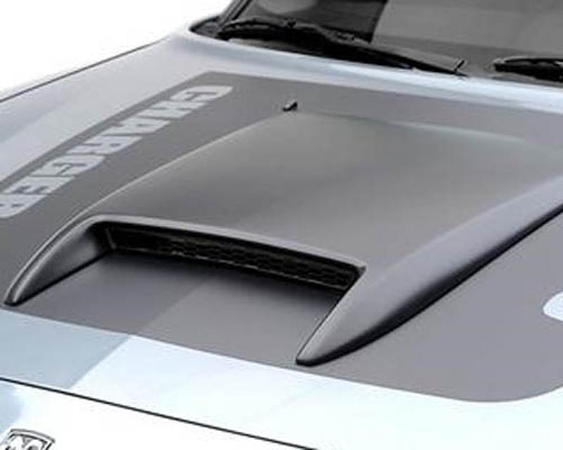 3dCarbon 691301 Hood Scoop Dodge Charger 05-10
