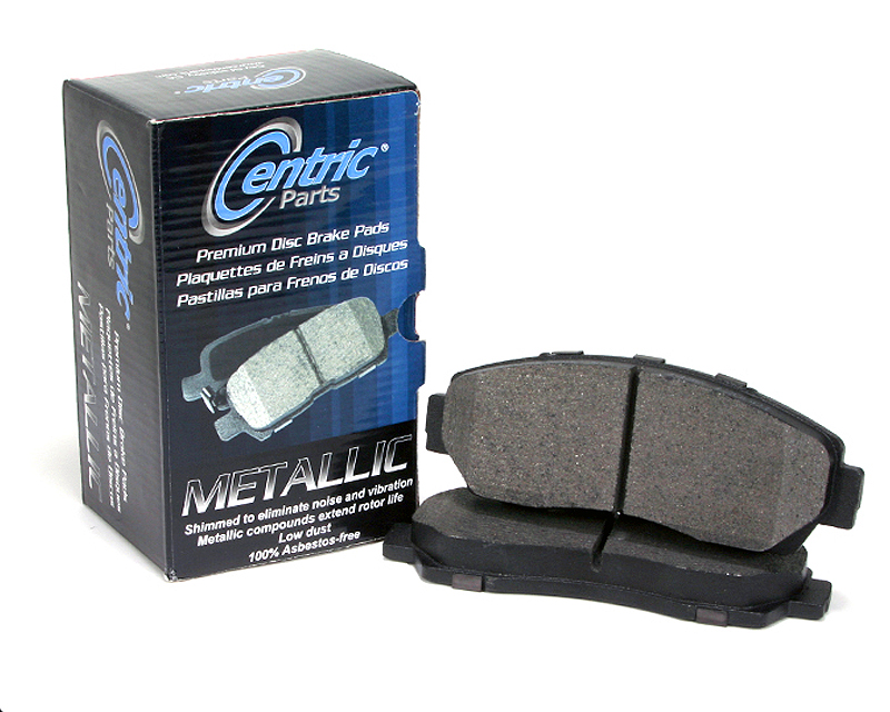 Centric Premium Ceramic Brake Pads with Shims Front Chevrolet C1500 1992