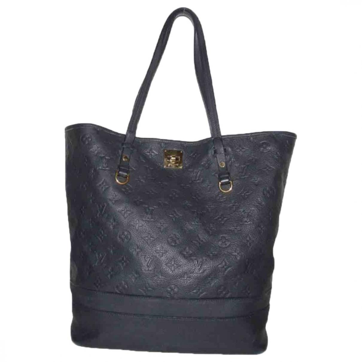 Louis Vuitton Citadine Blue Leather handbag for Women \N