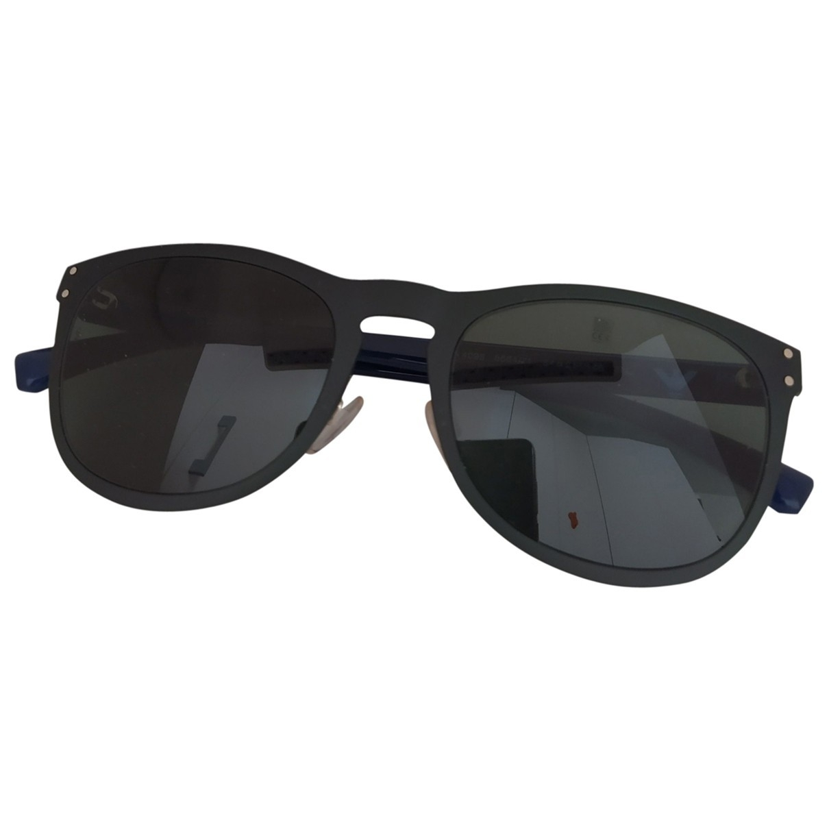 Emporio Armani \N Black Metal Sunglasses for Women \N