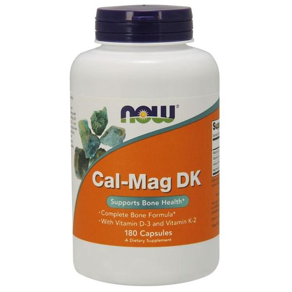 Cal-Mag DK 180 Caps by Now Foods