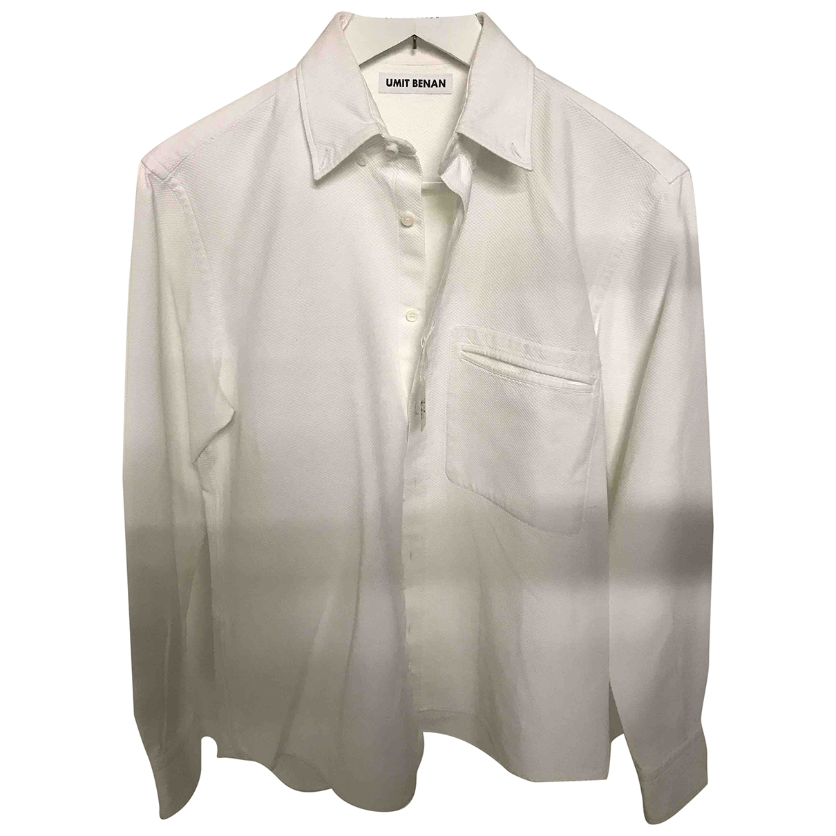 Umit Benan \N White Cotton Shirts for Men S International