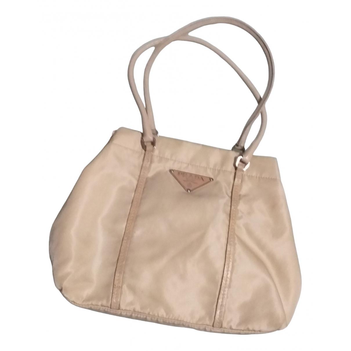 Prada \N Beige Cloth handbag for Women \N