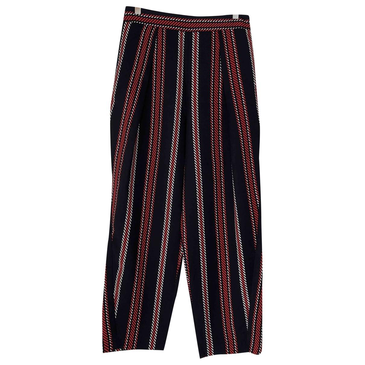 Zara \N Blue Trousers for Women M International