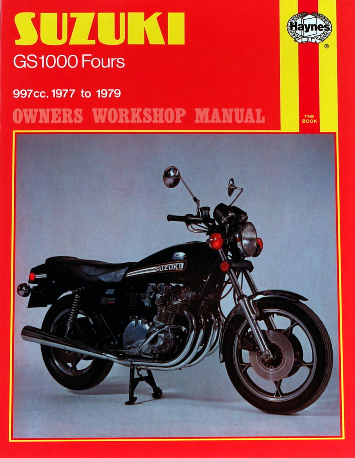 Suzuki GS1000 Fours (77-79) Haynes Repair Manual