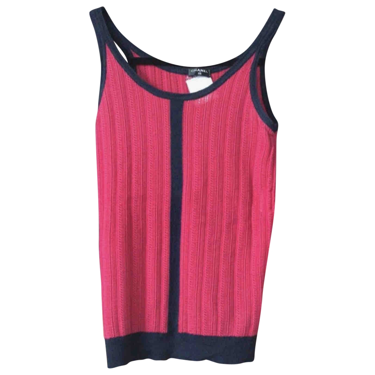 Chanel \N Red Cashmere  top for Women 36 FR