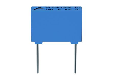 EPCOS 82μF Polyester Capacitor PET 63V dc ±10%