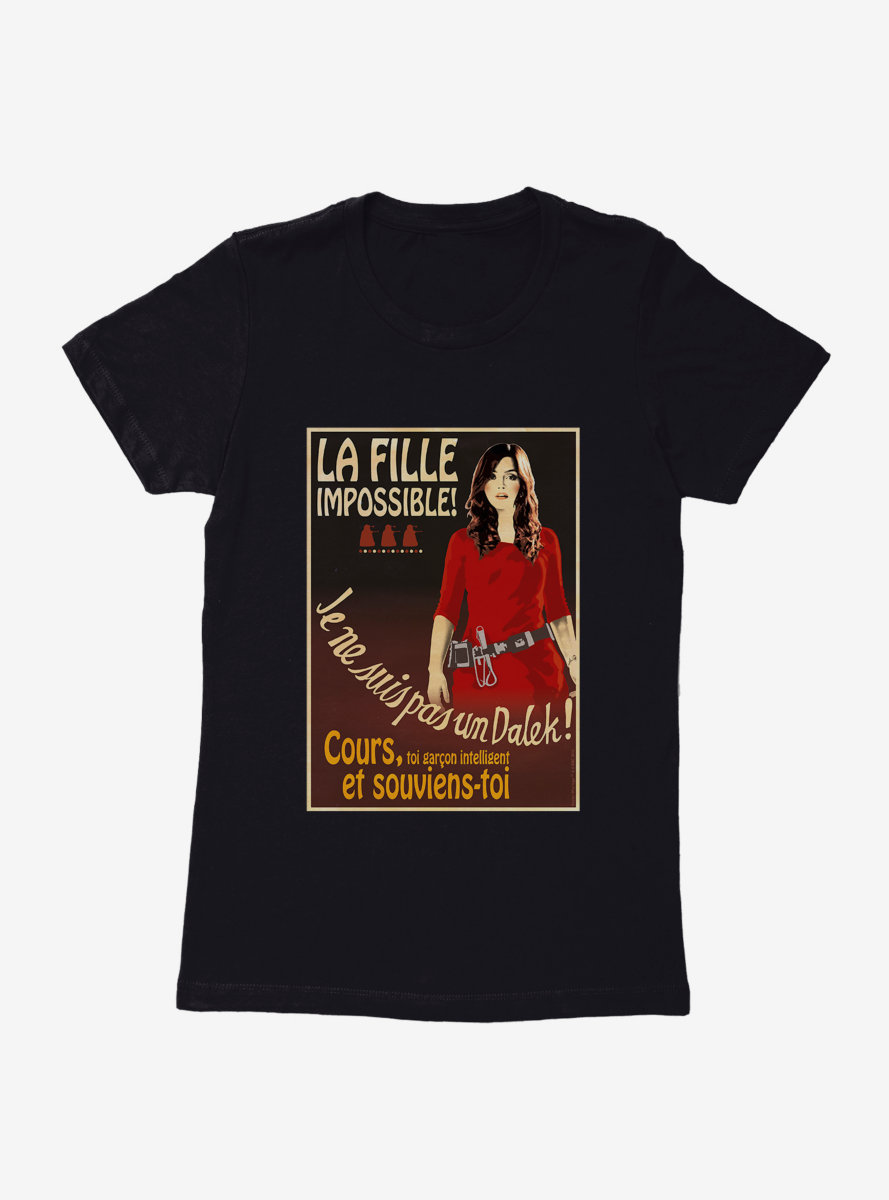 Doctor Who La Fille Impossible Womens T-Shirt