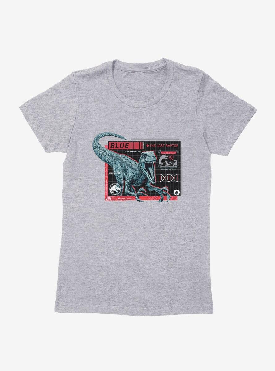Jurassic World Blue Specs Womens T-Shirt