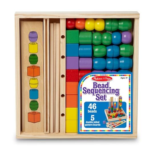 Melissa & Doug® Bead Sequencing Set | Michaels®