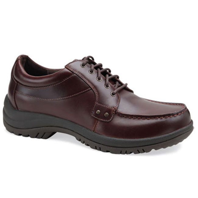 Dansko Wyatt Mocha Leather Slip-Resistant 44