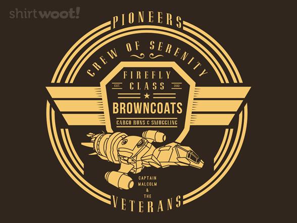 Crew Of Serenity T Shirt