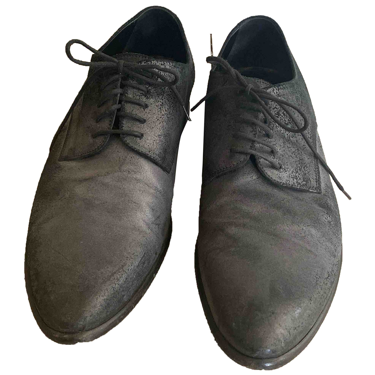 Dolce & Gabbana \N Grey Suede Lace ups for Men 9 US