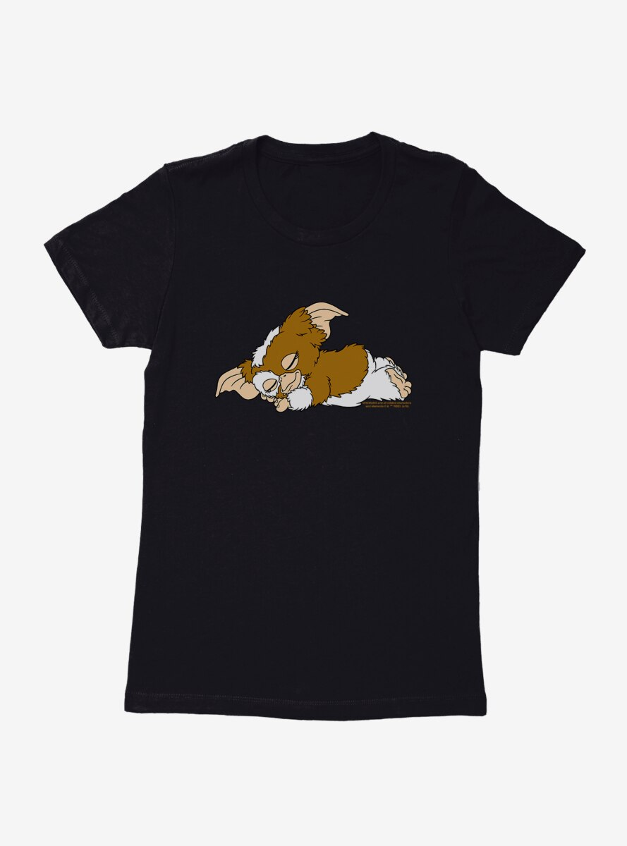 Gremlins Napping Gizmo Womens T-Shirt