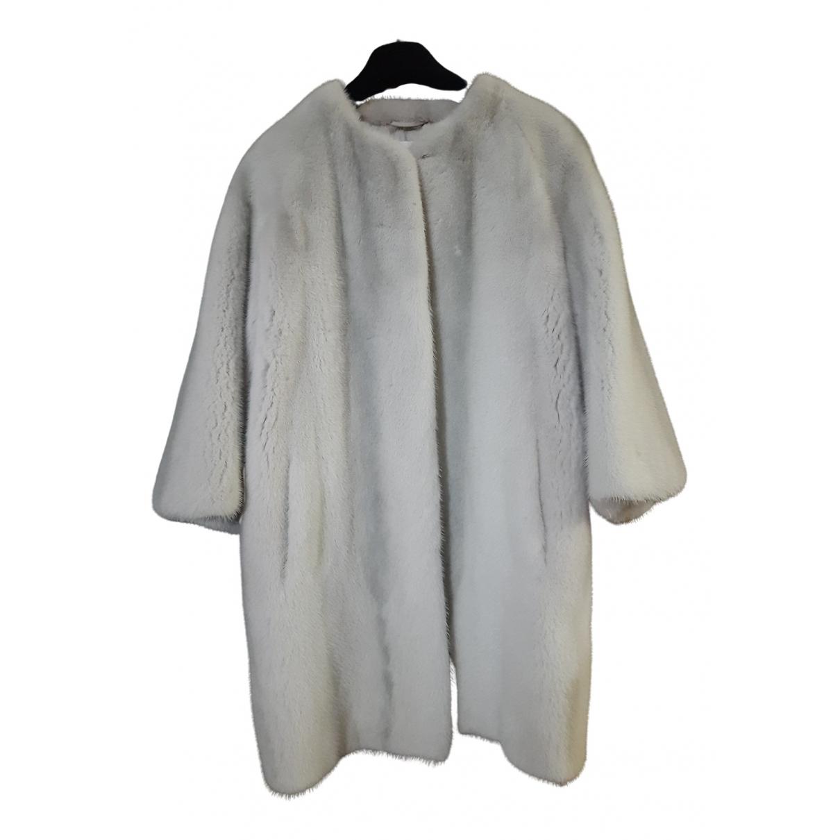 Yves Salomon \N Grey Mink coat for Women 36 FR