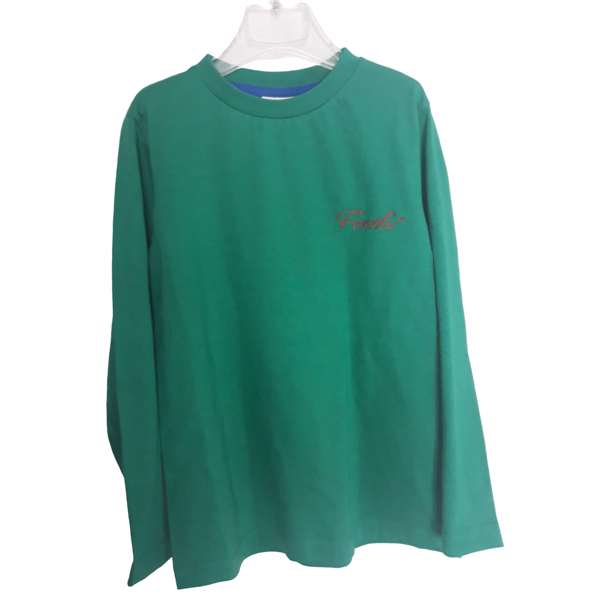 Fendi \N Green Cotton Knitwear for Kids 8 years - until 50 inches