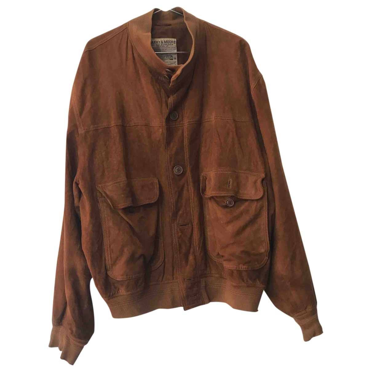 Non Signé / Unsigned \N Brown Leather jacket  for Men XL International