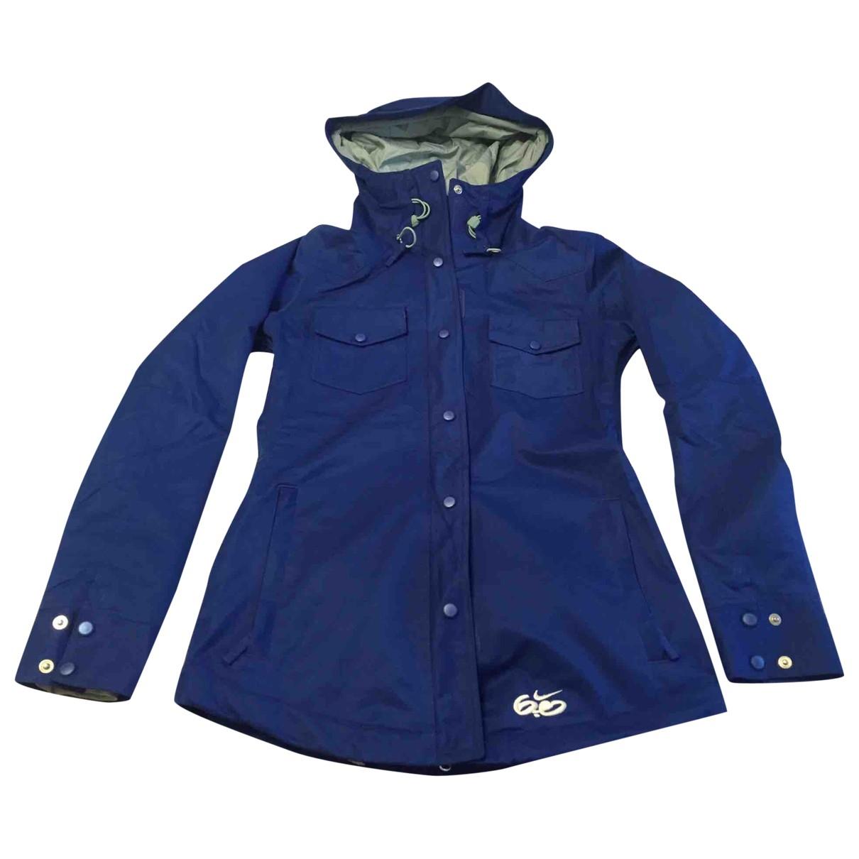 Nike \N Blue Trench coat for Women S International