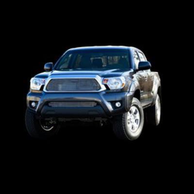 Carriage Works Billet Aluminum Bolt-Over Grille Insert (Polished Aluminum) - 47022
