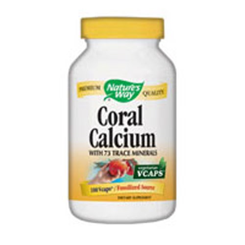 Coral Calcium 180 vcaps by Nature's Way