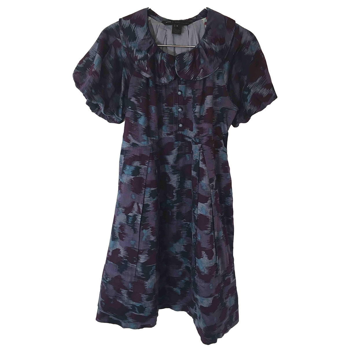 Marc By Marc Jacobs \N Purple Cotton dress for Women 6 US